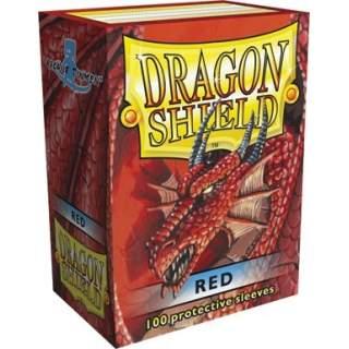 Koszulki Dragon Shield - 100 sztuk - Red