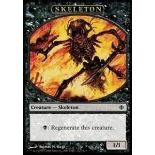 Skeleton Token (Black 1/1)