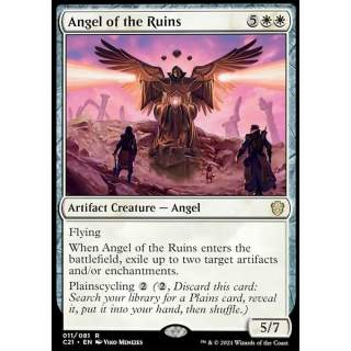 Angel of the Ruins