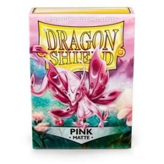 Koszulki Dragon Shield - 60 sztuk - Pro-Matte - Pink
