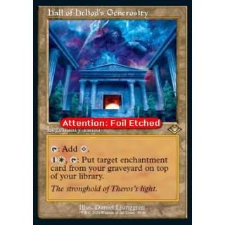 Hall of Heliod's Generosity (V.2) - FOIL