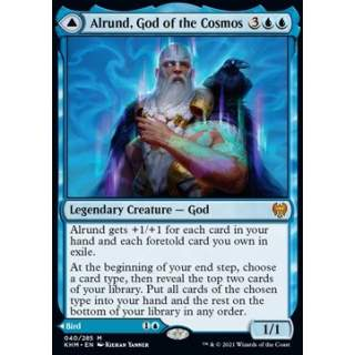 Alrund, God of the Cosmos // Hakka, Whispering Raven