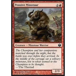 Pensive Minotaur - FOIL