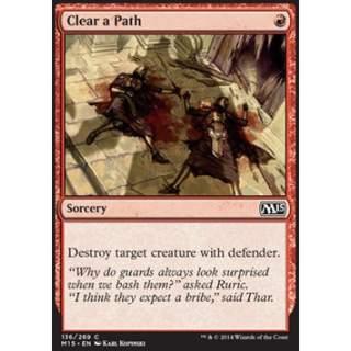 Clear a Path - FOIL