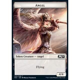 Angel Token (W 4/4) // Knight Token (W 2/2 Vigilance) - FOIL