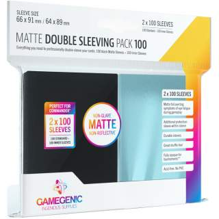 Gamegenic: Matte Double Sleeving Pack