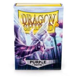 Koszulki Dragon Shield - 60 sztuk - Pro-Matte - Purple