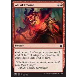 Act of Treason - FOIL