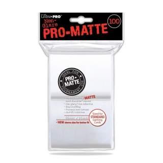 Koszulki Ultra Pro - 100 sztuk - Pro-Matte - White