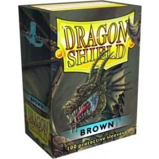 Koszulki Dragon Shield - 100 sztuk - Brown