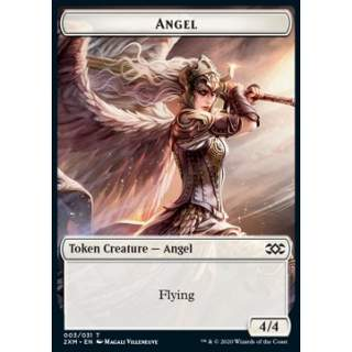 Angel Token (W 4/4) // Elephant Token (G 3/3) - FOIL