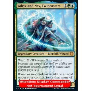 Adrix and Nev, Twincasters (V.2) - PROMO FOIL