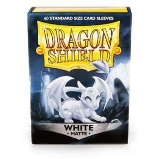 Koszulki Dragon Shield - 60 sztuk - Pro-Matte - White