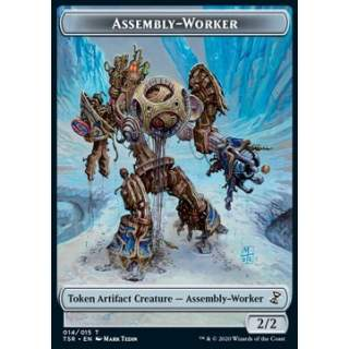 Assembly-Worker Token (Colorless 2/2)