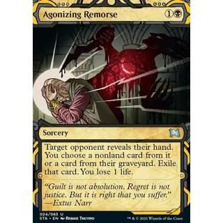 Agonizing Remorse (V.1) - FOIL