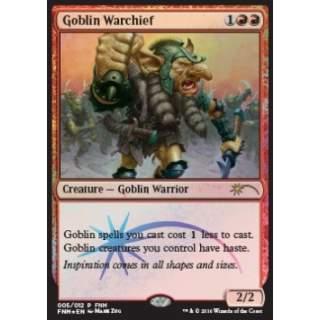 Goblin Warchief (Version 2) - FOIL