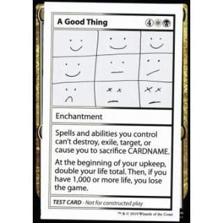 A Good Thing (V.2)