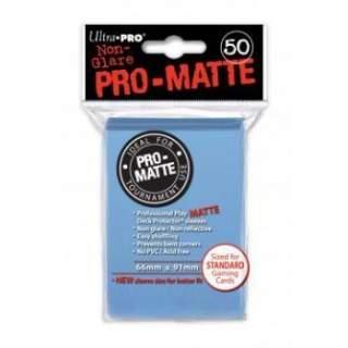 Koszulki Ultra Pro - 50 sztuk - Pro-Matte - Light Blue