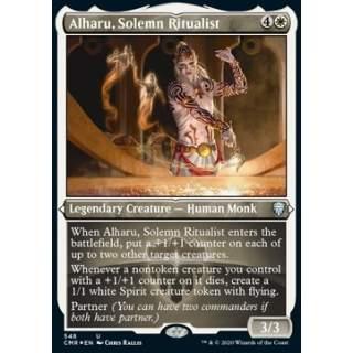 Alharu, Solemn Ritualist - PROMO FOIL