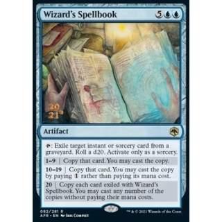 Wizard's Spellbook (V.1) - PROMO FOIL