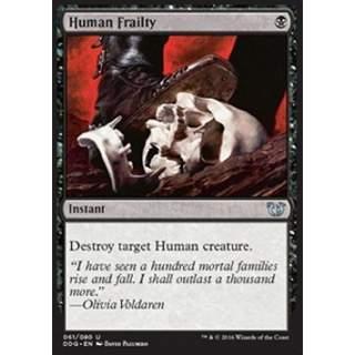 Human Frailty