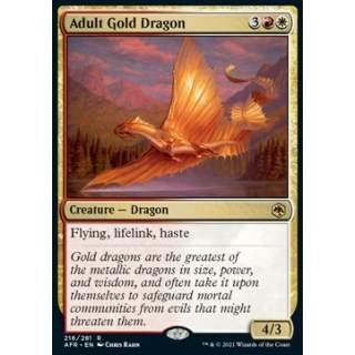 Adult Gold Dragon - FOIL