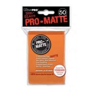 Koszulki Ultra Pro - 50 sztuk - Pro-Matte - Orange