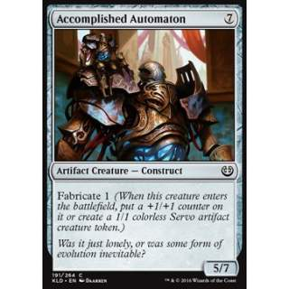 Accomplished Automaton