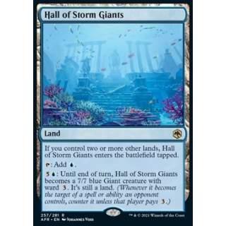 Hall of Storm Giants