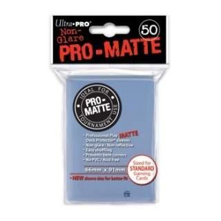 Koszulki Ultra Pro - 50 sztuk - Pro-Matte - Clear