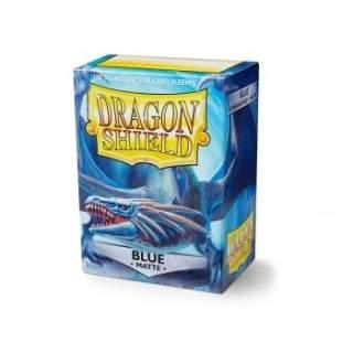 Koszulki Dragon Shield - 100 sztuk - Matte - Blue