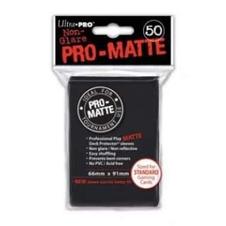 Koszulki Ultra Pro - 50 sztuk - Pro-Matte - Black