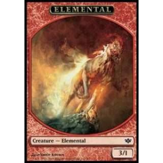 Elemental Token (Red 3/1)