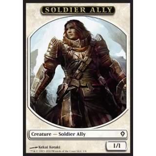 Soldier Ally Token (White 1/1)