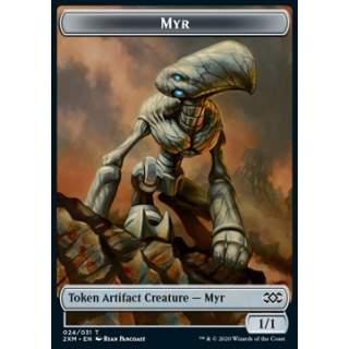 Myr Token (A 1/1) // Thopter Token (UA 1/1) - FOIL