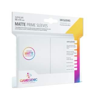 Gamegenic: Matte Prime - White, 100 sztuk