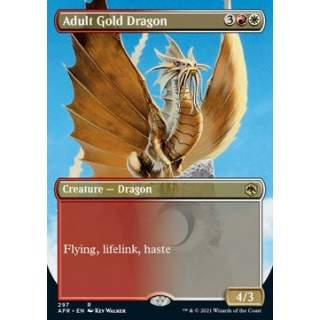 Adult Gold Dragon - PROMO