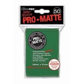 Koszulki Ultra Pro - 50 sztuk - Pro-Matte - Green