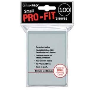 Koszulki Ultra Pro - 100 sztuk - Pro-Fit - Small Sleeves