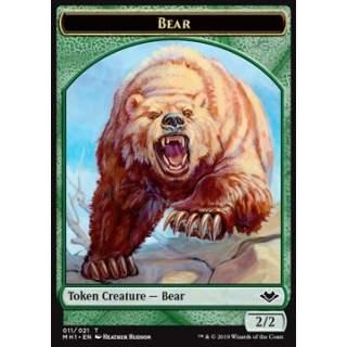 Bear Token (G 2/2) // Spirit Token (WB 1/1)