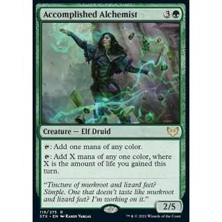 Accomplished Alchemist - FOIL
