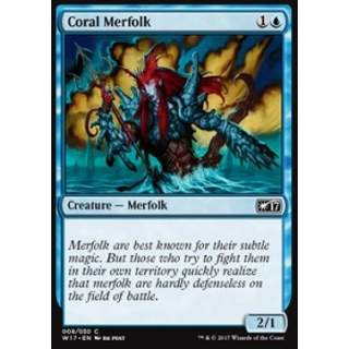 Coral Merfolk
