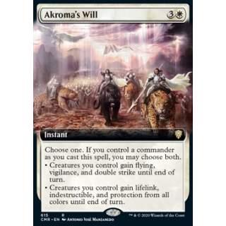 Akroma's Will - PROMO FOIL