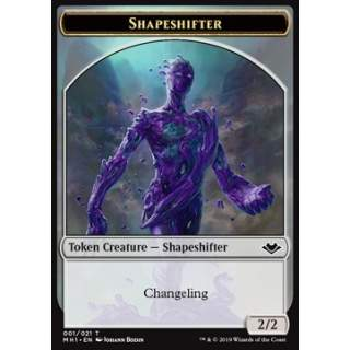 Shapeshifter Token (C 2/2) // Squirrel Token (G 1/1)