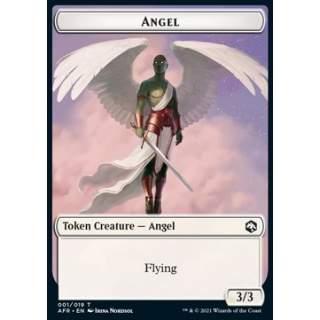 Angel Token (W 3/3) // Devil Token (R 1/1) - FOIL