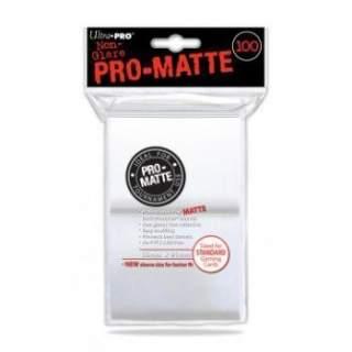 Koszulki Ultra Pro - 100 sztuk - Pro-Matte - Clear