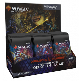 Adventures in the Forgotten Realms - Set Boosters Box