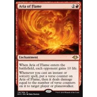 Aria of Flame - FOIL