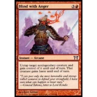 Blind with Anger