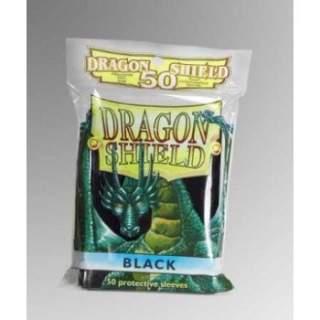 Koszulki Dragon Shield - 50 sztuk - Black